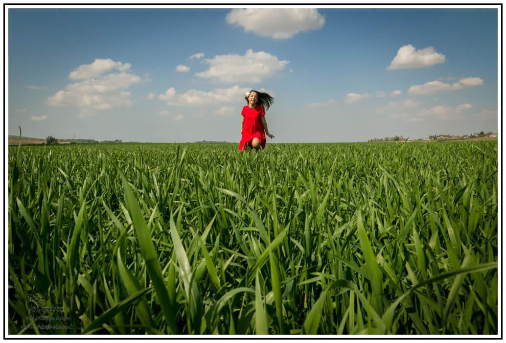 בוק בת מצווה בשדה פורח